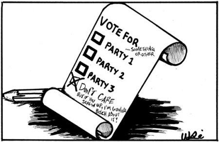 dilema votului
